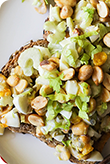 Roasted Peanut Egg Salad